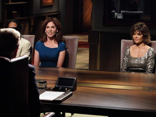 "Project managers Marilu Henner and Lisa Rinna face off on ""All-Star Celebrity Apprentice."""