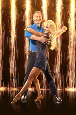 """Sean Lowe and his """"Dancing With the Stars"""" pro partner Peta Murgatroyd."""