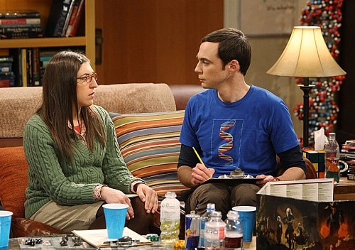 Sheldon and Amy.