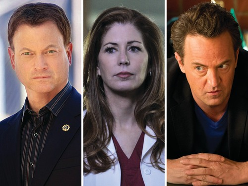 "Gary Sinise on ""CSI: NY,"" Dana Delany on ""Body of Proof"" and Matthew Perry on ""Go On."""