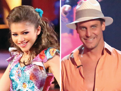 "Zendaya and Ingo Rademacher on ""Dancing With the Stars."""