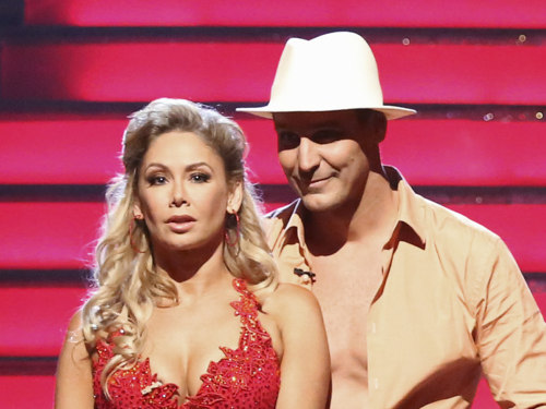 "Ingo Rademacher and his ""Dancing With the Stars"" pro partner Kym Johnson."