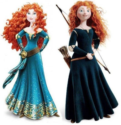 "Image: Merida from the film ""Brave"""