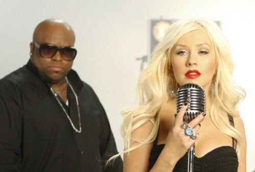 Image: Christina Aguilera, CeeLo Green