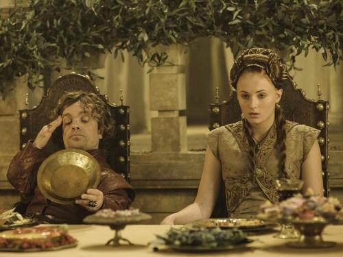 Image: Tyrion and Sansa
