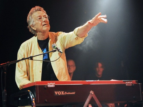 IMAGE: Ray Manzarek in 2012