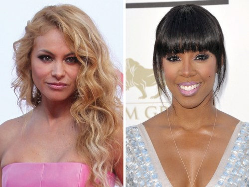 "Paulina Rubio and Kelly Rowland are ""The X Factor's"" newest judges."