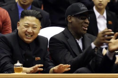 Image: Kim Jong-un, Dennis Rodman