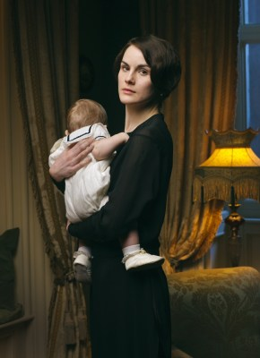 "Michelle Dockery as Lady Mary Crawley on ""Downton Abbey."""