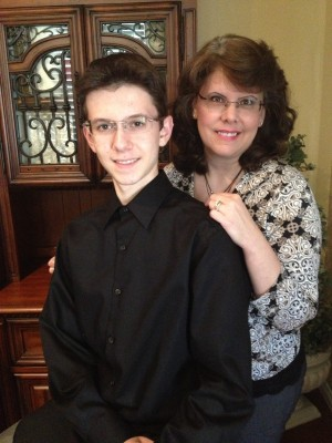 Dana Gordin and son
