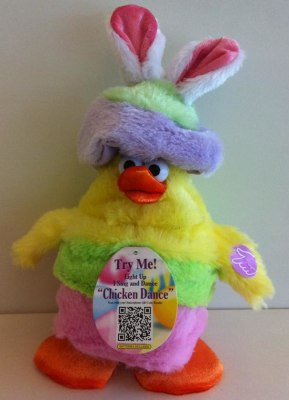 Fred Meyer sold about 1,000 of these dancing chicks in Washington, Oregon, Idaho and Alaska between February and March. Parents are advised to stop us...
