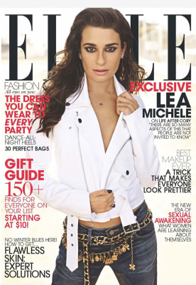 IMAGE: Lea Michele on Elle