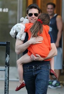Image: Tom Cruise and daughter Suri