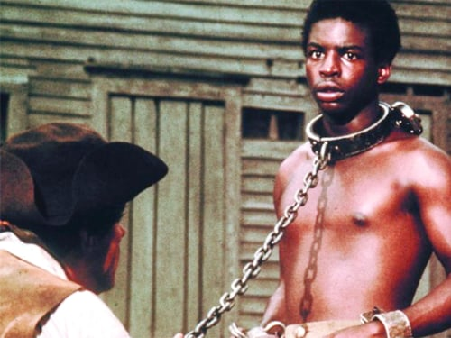 "LeVar Burton in 1977's ""Roots."""
