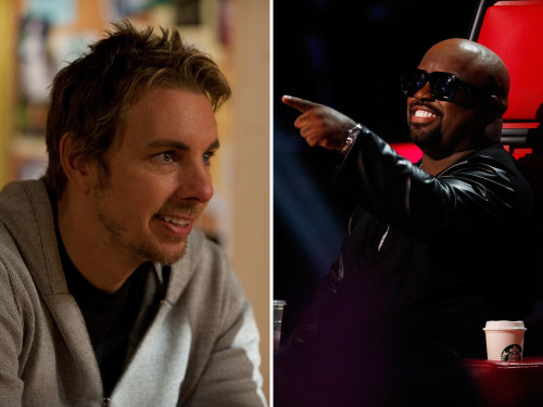 Image: Dax Shepard and CeeLo Green