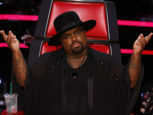 Image: CeeLo Green on The Voice.