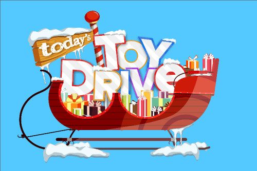 Join us this holiday season for TODAY's Toy Drive.