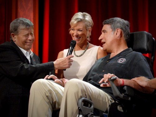 Nieto and his wife, Lynn, have founded Augie's Quest, which has raised nearly $40 million to fight ALS.