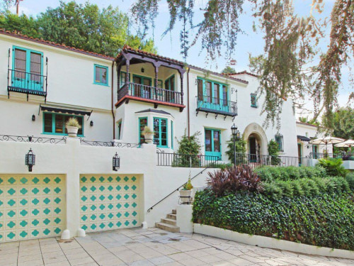 Jesse Tyler Ferguson recently bought this 5,000-square-foot home in Los Feliz, Calif.