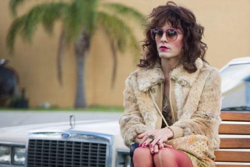 "Jared Leto as Rayon in Jean-Marc Vallée's fact-based drama ""Dallas Buyers Club."""