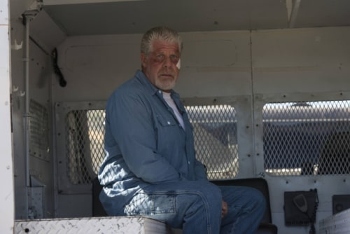 "Ron Perlman played Clay Morrow on ""Sons of Anarchy."""