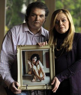 Image: Simon Monjack and Sharon Murphy