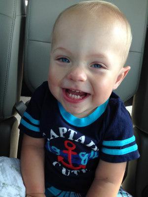 Ward Miles Miller, 16 months old.