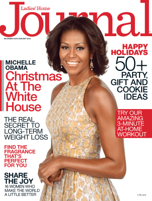 Michelle Obama on the cover of Ladies Home Journal