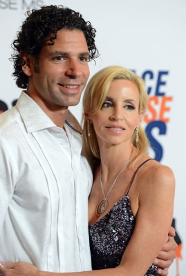 Dimitri Charalambopoulos and Camille Grammer in happier times last year.