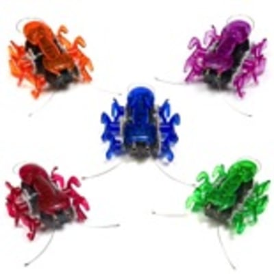 Your kid will love these high-speed micro-robotic creatures.