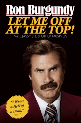 Image: Ron Burgundy book cover