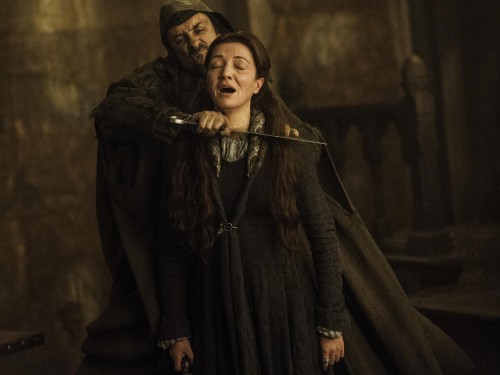 """Image: Catelyn Stark (Michelle Fairley) of """"Game of Thrones"""""""