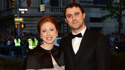 "Chelsea Clinton tells Glamour magazine that she and husband Marc Mezvinsky are looking to start a family next year, saying that 2014 will be the ""year of the baby."""