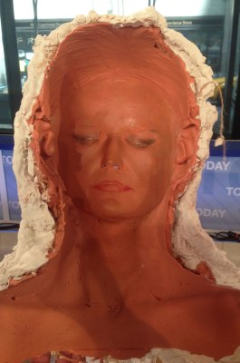 Image: Mold of Savannah Guthrie's face
