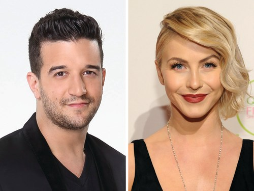 Image: Mark Ballas and Julianne Hough