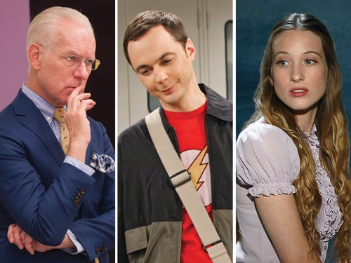 Image: Project Runway, Big Bang Theory and Once Upon a Time in Wonderland
