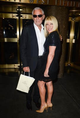 Suzanne Somers and her husband, Alan Hamel.