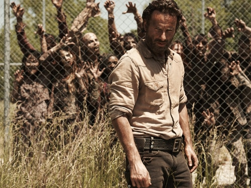 Image: Rick on Walking Dead