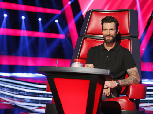 Image: Adam Levine on 'The Voice'