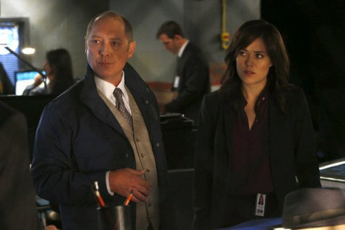 """James Spader and Megan Boone in """"The Blacklist."""""""