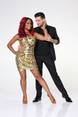 Image: Christina Milian and Mark Ballas