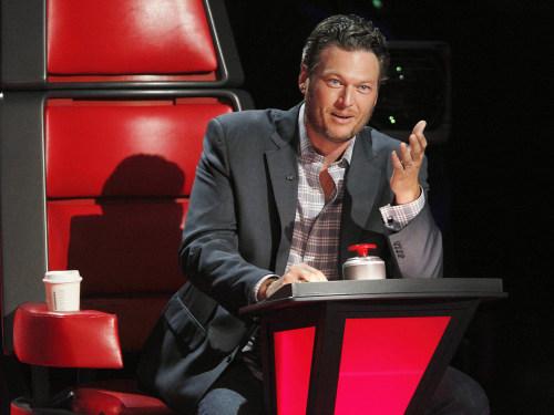 Image: Blake Shelton on The Voice
