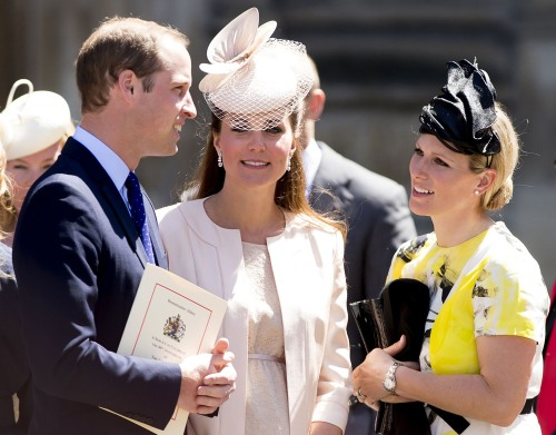 Prince William, Kate and Zara Tindall