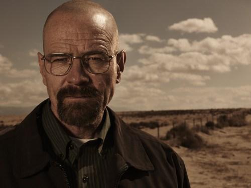 "Bryan Cranston as Walter White in ""Breaking Bad."""