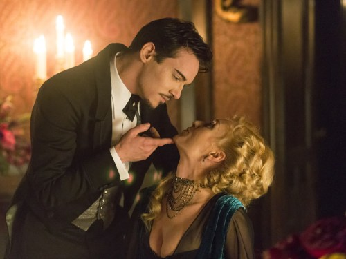 Image: Jonathan Rhys Meyers, Victoria Smurfit