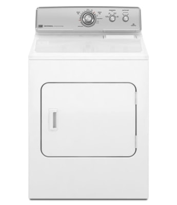The Maytag Centennial MEDC300XW is among four top picks from Cheapism.com for clothes dryers under $500.