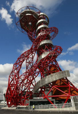 London's ArcelorMittal Orbit is one of 10 amazing landmarks destined to become must-sees.