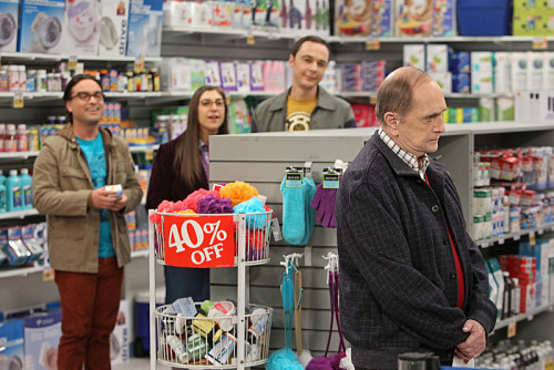 "Professor Proton (Bob Newhart) and Bill Nye the Science Guy are mortal enemies on ""The Big Bang Theory."""