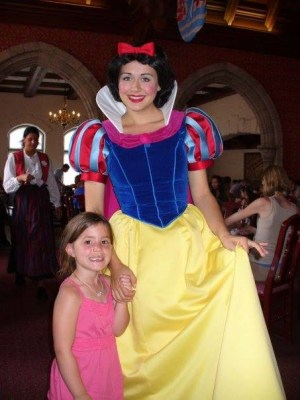 Madison Schickling meets Snow White.