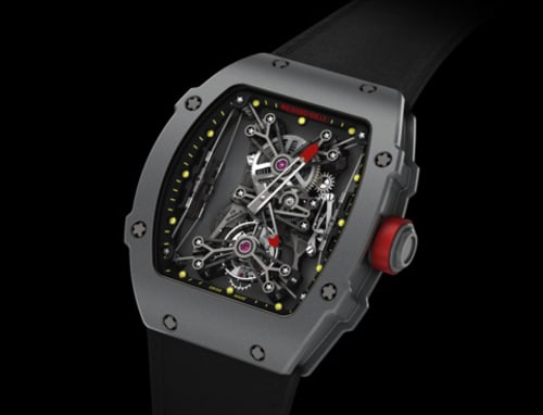Richard Mille RM027-01 watch face